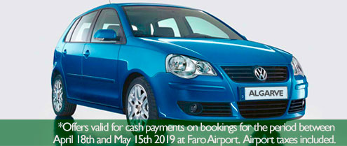 Special offer for Car hire in Vilamoura Algarve
